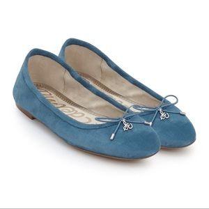 Sam Edelman Felicia Suede Ballet Flats Shoes